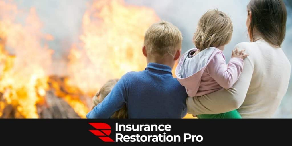 Fire damage restoration in Chilliwack